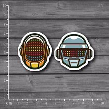 Daft Punk Cool Graffiti Scrapbooking Stationery Sticker Decor Decal For Ablum Diary Laptop Luggage Skateboard Suitcase[Single](China)