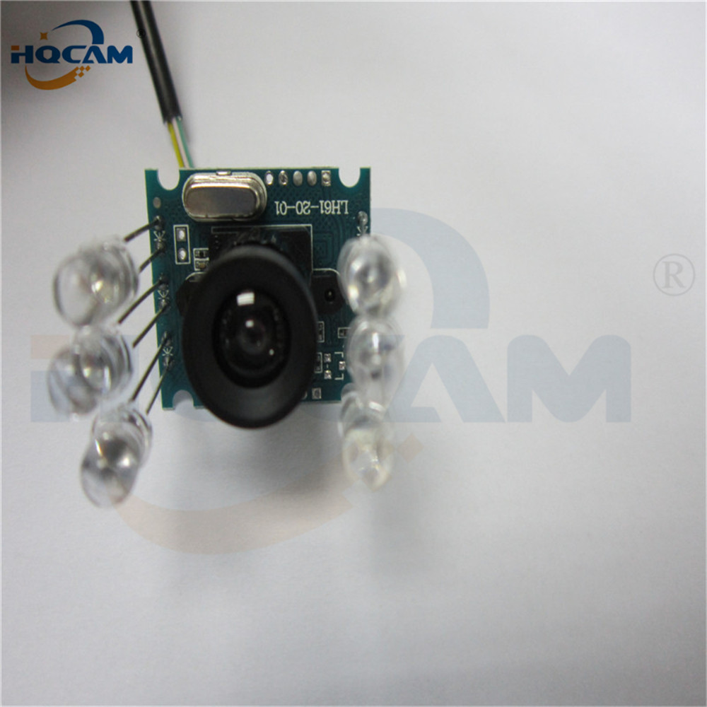 Image 4 - HQCAM 10PCS 850nm IR led 1080P Mini usb camera module IR infrared Night vision CMOS Board Camera for Android Linux Windows-in Surveillance Cameras from Security & Protection