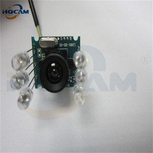 Image 4 - HQCAM 10PCS 850nm IR led 1080P Mini usb camera module IR infrared Night vision CMOS Board Camera for Android Linux Windows