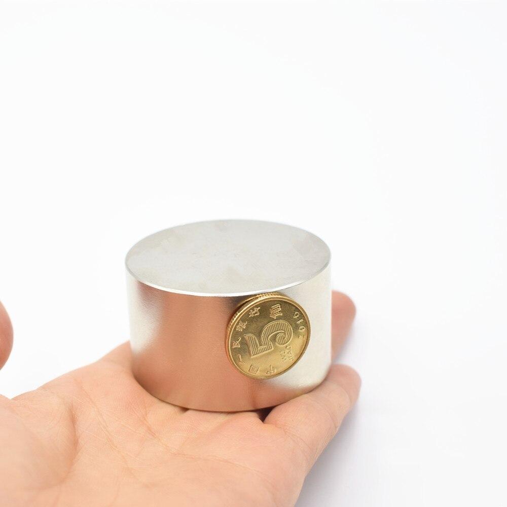 3pcs Neodymium magnet 50x30 mm gallium metal hot super strong round magnets 50*30 Neodimio magnet powerful permanent magnets