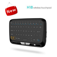 DOITOP H18 Smart Remote Control Touchpad Keyboard Wireless Air Mouse Touch Pad For STB Android Windows Mac OS Linux TV Box PS3