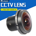 1/2.5 Inch 5 Megapixel 1.7mm Panorama FishEye Lens 180 Degree Wide Angle For CCTV IP Camera And Panoramic Camera