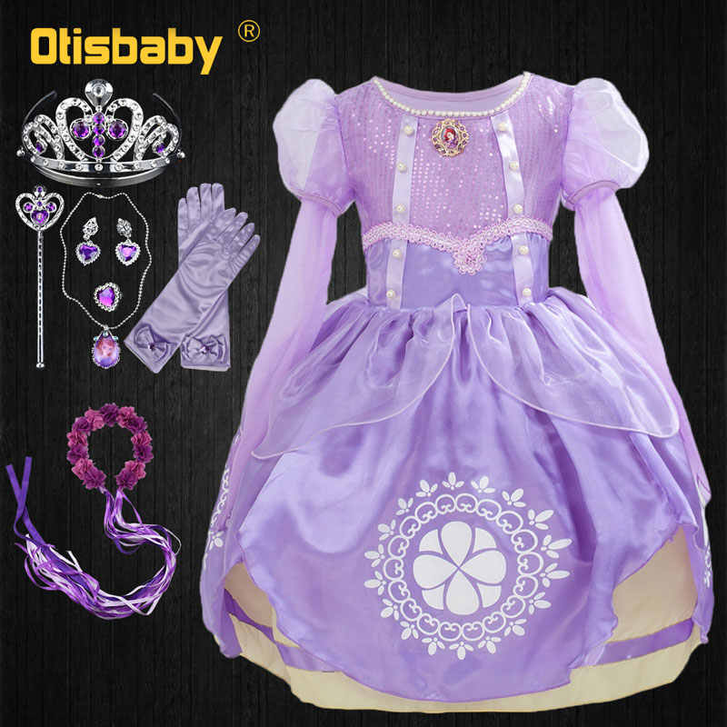 e4ff47d00ba3f Detail Feedback Questions about 2018 Girls Sofia Princess Tutu Dress ...