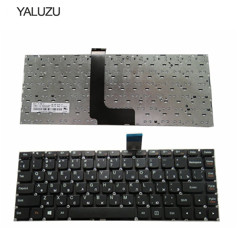 YALUZU new for LENOVO M490S M4400S B4400S B4450S B490S M495S series RU layout russian laptop keyboard black color without frame цена