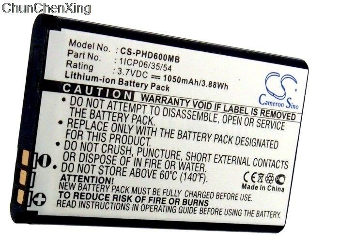 Battery For Topcom Babyviewer 4500 BabyPhone Battery Cameron Sino 1050mAh