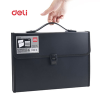 Deli Waterproof Book A4 Paper File Folder Bag Business Supplies Style Design Document Rectangle Office Home