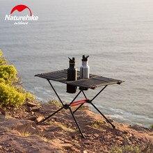 Naturehike новейший портативный складной столик для пикника с подстаканником легкий складной стол рыбалка кемпинг открытый обеденный стол