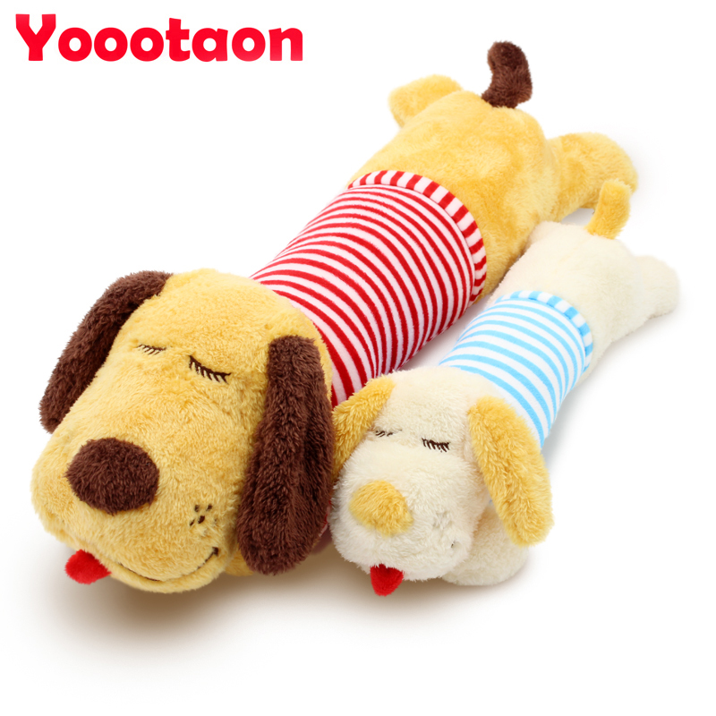 New sailor's striped shirt Dog plush toys Cute Lovely Stuffed dolls bolster for kids toys gift