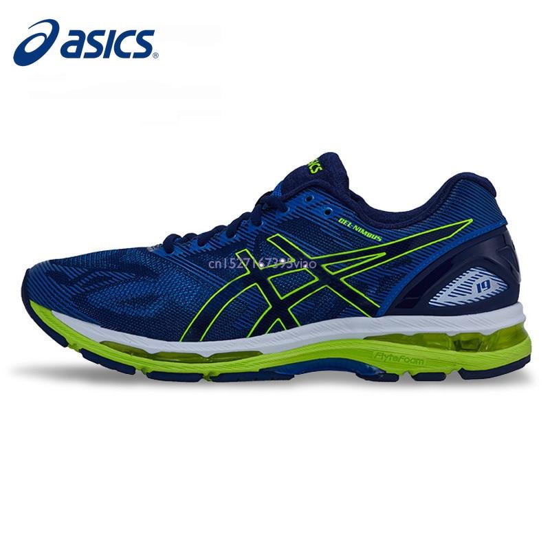 wholesale dealer 02311 fdf02 ASICS herren Schuhe Original Authentischen GEL-NIMBUS 19 Kissen Licht  Laufschuhe Turnschuhe Sport Outdoor Freizeit Athletisch Heiße verkauf