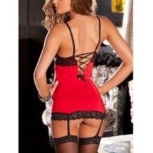 Women Sexy Lingerie Lace Dress Underwear Babydoll Sleepwear Dress