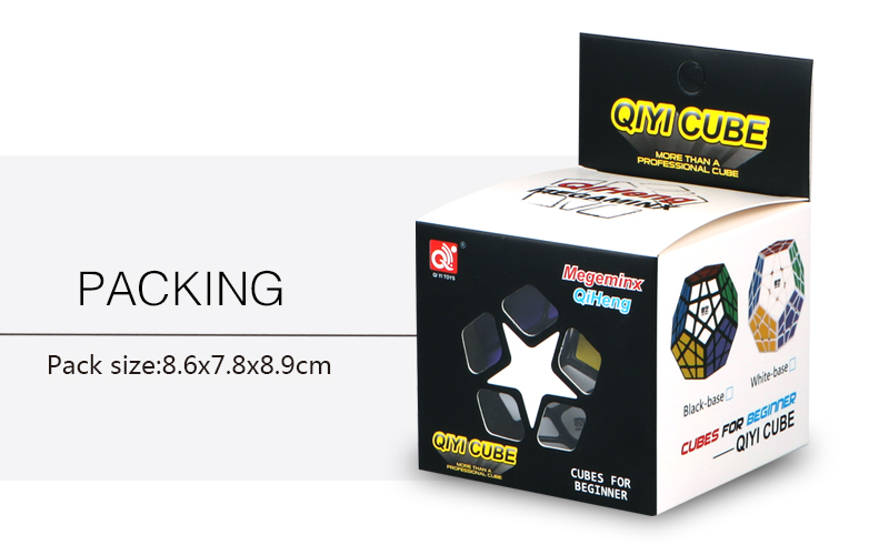cubo mágico megaminx sin etiqueta velocidad profesional 12 lados - Juegos y rompecabezas - foto 4