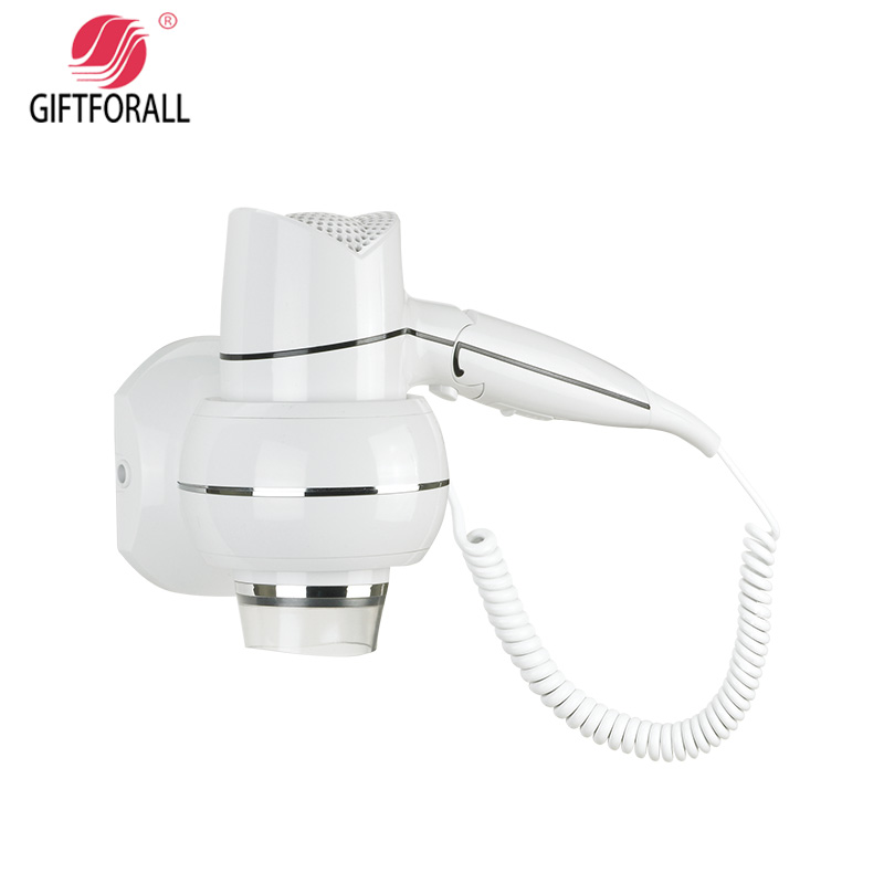GIFTFORALL Hairdryer Professional Styling Wall Mounted Portable not hurt the hair windHotel Bathroom Home Hair Dryer D160 giftforall hair dryer hotel bathroom home professional hair salon powerful wall mounted portable mini hairdryer d139 d
