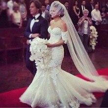 kejiadian Mermaid Wedding Dress Floor-Length