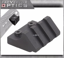 "KeyMod Handguard Assessories 45 Graden Offset Picatinny Rail Mount 3 slots 1,5 inch 1 1/2 ""lengte"