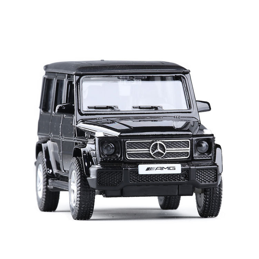 SUV G63 AMG 1:36 Simulation Toy Vehicles Alloy Pull Back Mini Car Replica Authorized By The Original Factory Model Toy Kids Gift
