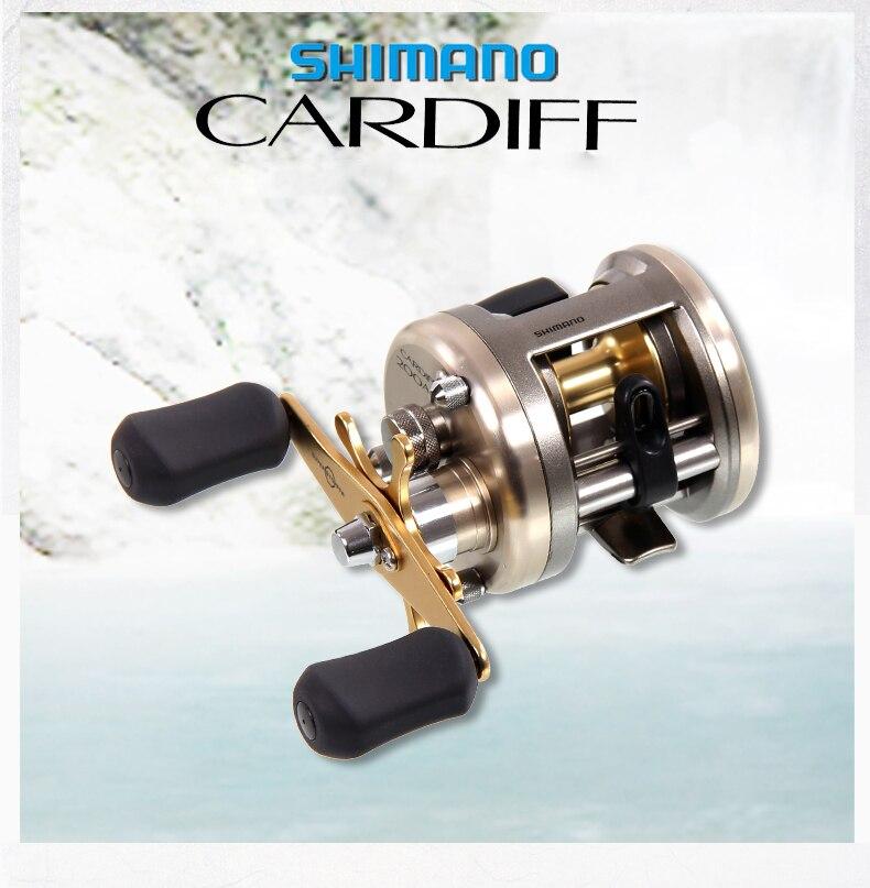 все цены на Japan Shimano CARDIFF 200A 201A 300A 301A 400A 401 Baitcasting Fishing Reel 4+1BB 5.8:1 Round Fishing reel онлайн