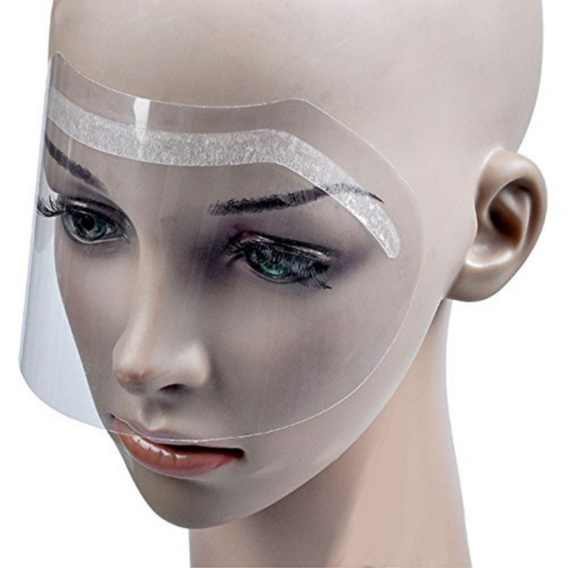 Objective 50pcs Disposable Hair Salon Plastic Hairspray Mask Shield Eyes Face Protector Discounts Price Styling Tools
