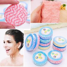 1Pc New Magic Large Small Compressed Face Bath Towels Washcloths Travel Camping(China)
