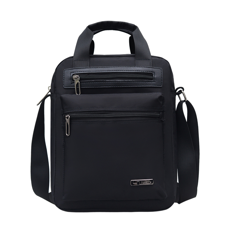 Image 2 - Mens Crossbody Bag Messenger Bag Male Waterproof Nylon Satchel Over The Shoulder Bags Business Handbag Mini Briefcase HandbagCrossbody Bags   -
