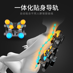 Image 4 - LEK F6 otomatik sıfır yerçekimi masaj koltuğu tam vücut elektrikli yoğurma Shiatsu ısıtmalı masaj koltuğu recliner vergi dahil