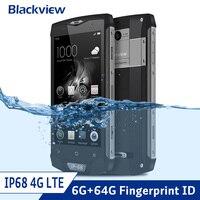 Blackview BV8000 Pro Dual 4G LTE Rugged Smartphone IP68 Waterproof Shockproof Phone Android 7.0 6GB+64GB NFC 1920*1080 4180mAh
