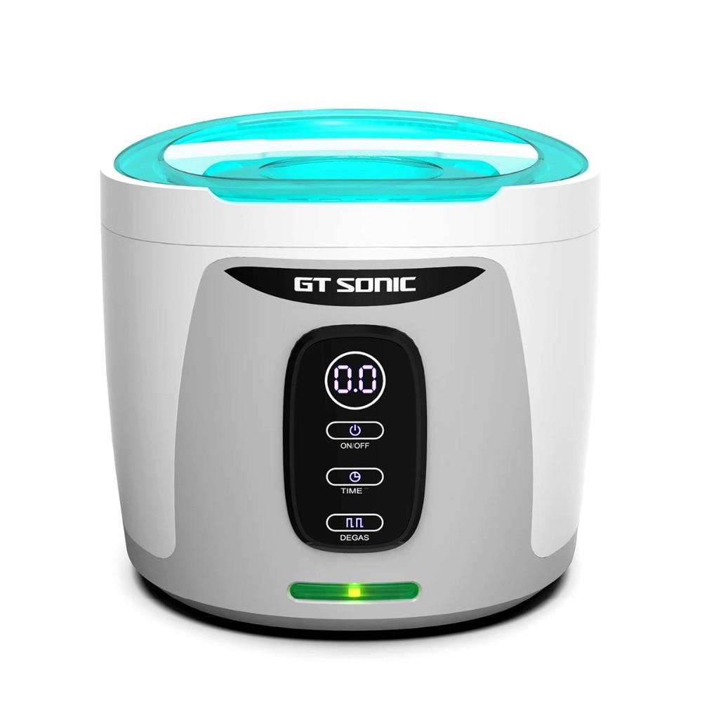 GTSONIC F3 Ultrasonic Cleaner 750ML 35W for Necklace Earrings Bracelets Dentures Household Ultrasonic Baths