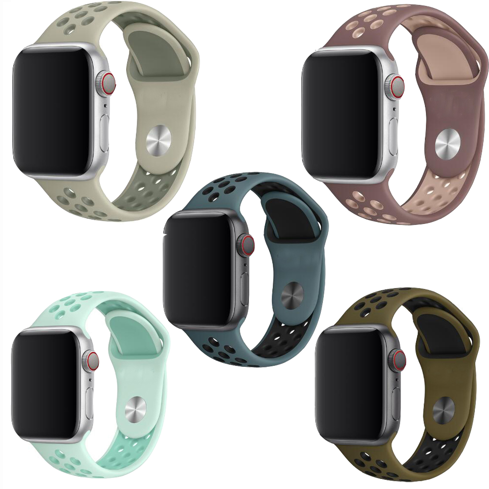 Dalan Big Sport Silicone Strap For Apple Watch Band