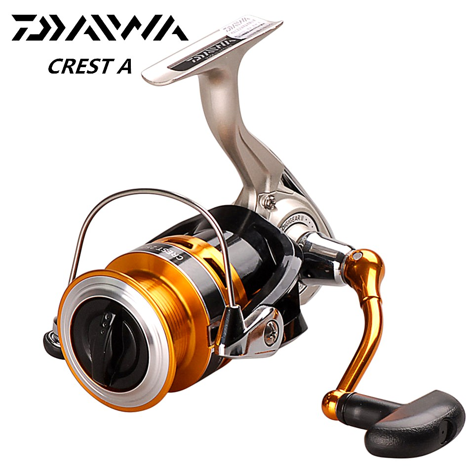 Original DAIWA CREST Spinning Fishing Reel 2500A 3000A 5 3 1 1BB Carp Fishing Reels Spinning