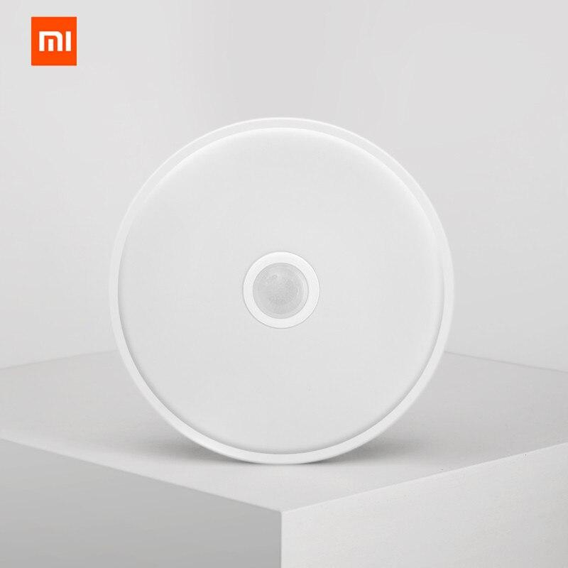 Оригинальный Xiaomi mijia yeelight Потолочный Мини с датчиком движения/человеческого тела, солнечный датчик анти-москитный 6светодио дный 70lm ночной ...