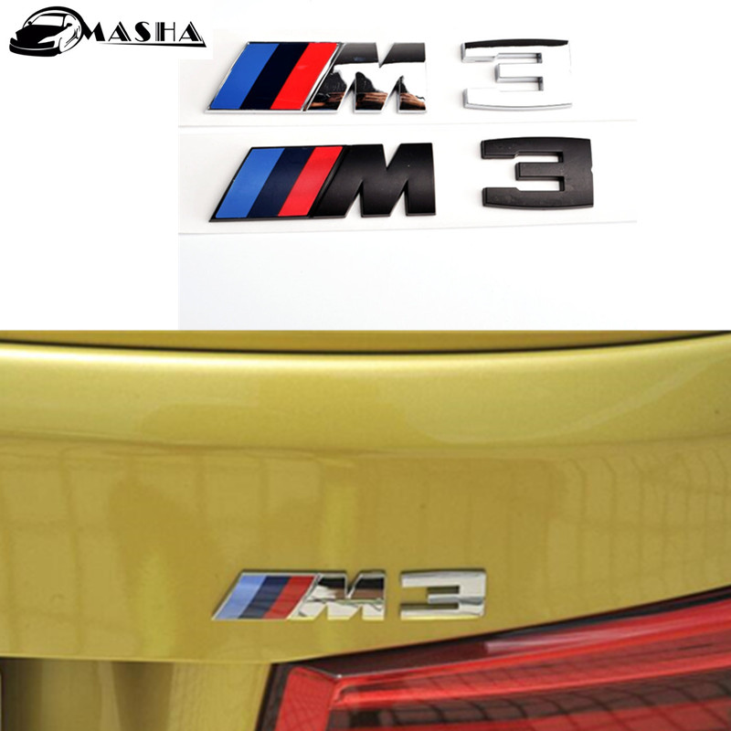 3D BLUE NAVY RED CAR LOGO BADGE EMBLEM STICKER DECAL for BMW E46 E90 E92 F30 F35 M3 318i 330i E46 Z3 rfid access control electronic security entry woden steel electric gate door rim lock kit with exit button exit switch