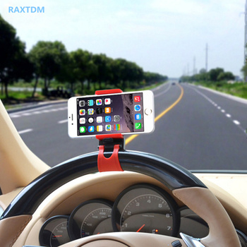 GPS Car Steering Wheel Mobile Phone Holder Bracket Stand for Volvo S40 S60 S80 S90 V40 V60 V70 V90 XC60 XC70 XC90 image