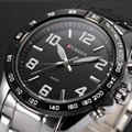 Curren Luxury Brand Silver Stainless Full Steel Strap Male Clock Quartz Watch Casual Watch Men Wristwatch relogio masculino