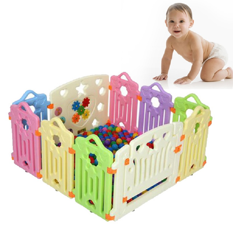 Fencing for Children Baby Safety Fence Baby Playpen Fence Indoor Ball Playpens Kids Play Fence Play Yard Barriers for Children dog fence wireless containment system pet wire free fencing kd661