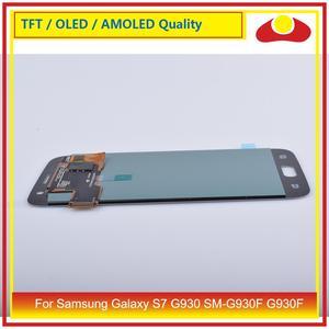 Image 3 - 10 teile/los Für Samsung Galaxy S7 G930 SM G930F G930F LCD Display Mit Touch Screen Digitizer Panel Pantalla Komplette