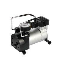 DC 12V Mini Car Electric Air Pump Pneumatic Air Gun PCP Air Pump 100Psi Single Cylinder Car Tire Air Compressor