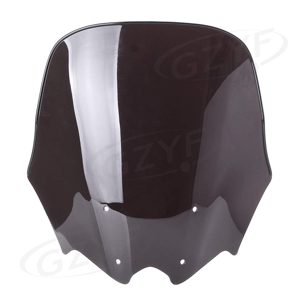 Motorcycle Windscreen Windshield Wind Screen Shield For Honda NC700 2010 2011 2012 2013 2014 ABS Plastic, Double Bubble