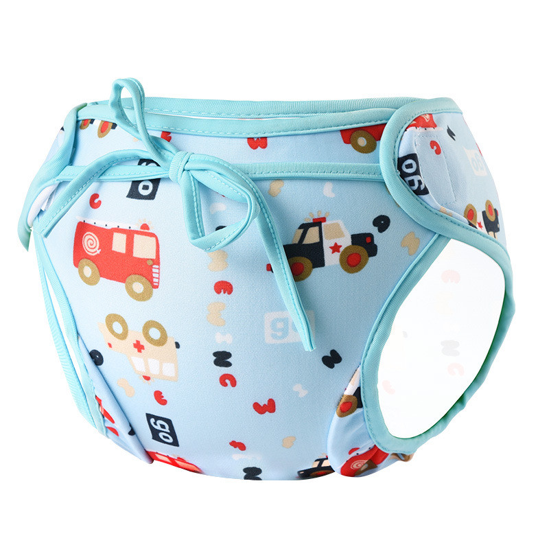 Unisex three size Waterproof Adjustable Swim Diaper Pant  Baby Reusable Washable Pool Cover nappy Training Trunks Swimwear
