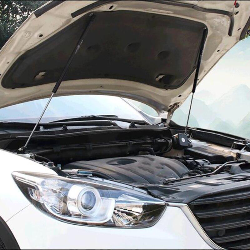2 pièces style de voiture idéal pour CX5 CX-5 2013-2017 ans barre anti-rapprochement Automobile capot hydraulique barre de support accessoires de voiture