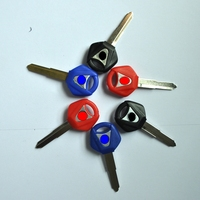 48 Pcs Lot Motorcycle Blank Key Uncut Blade For Yamaha YZF R1 R6 XJR1200 XJR1300 FJR1300 SR400 XVS400