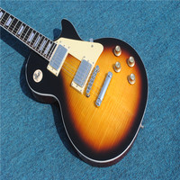 Excellent Feedback KPOLE LP Electric Guitar Vintage Sunburst Supreme KPOLE Electrica Guitarra In Stock For Shipping