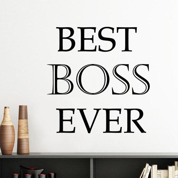 Online Shop Best Boss Mom Friend Dad Grandpa Ever Office Worker Word
