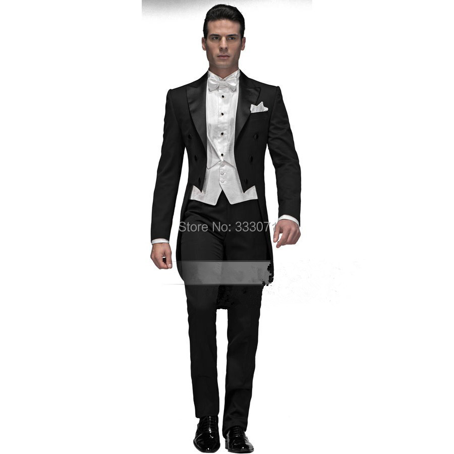 Black And White Suits For Men Dress Yy
