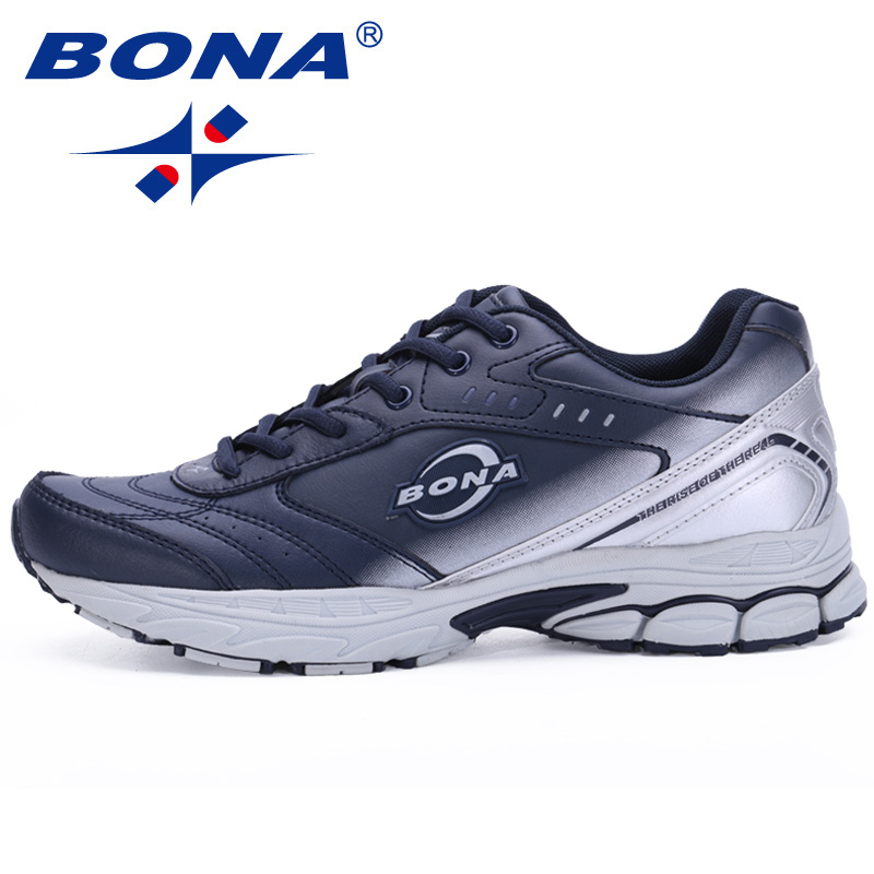 BONA New Style Men Running Shoes Typical Sport Shoes Outdoor Walking Shoes Men Sneakers Comfortable Women Sport Running Shoes 2