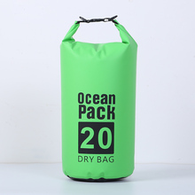 20L Capacity Waterproof Bag Outdoor Portable Swimming Camping Products Climbing Storage Supplies