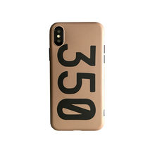 Luxury sneakers Kanye Omari West BOOST 350 V2 Soft silicon cover case for iphone 6 S 7 7plus 8 8plus X 10 XR XS Max phone coque(China)