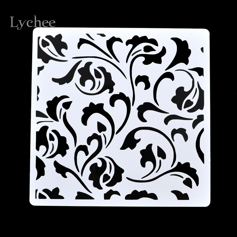 Lychee Scrapbooking Tool Card DIY Album Masking Spray Painted ...