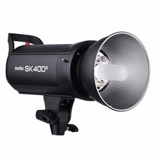 Godox SK400II Professionelle Studio Strobe Blitz Eingebaute 2,4G Wireless X System GN65 5600 Karat AC200-240V Video Light