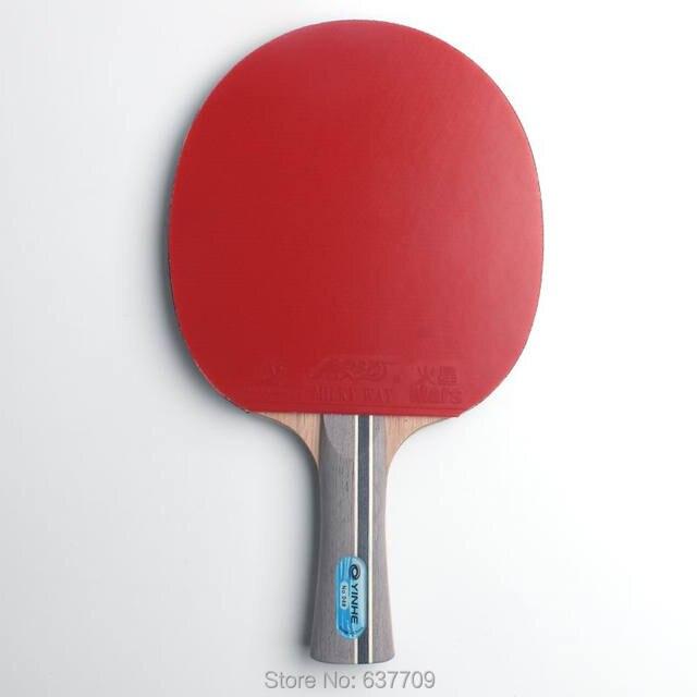 Оригинальные Galaxy yinhe 04b ракетки для настольного тенниса готовые ракетки Спортивные С бугорками резиновые ракетки для пинг-понга