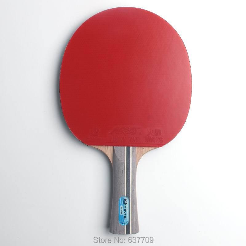D'origine Galaxy yinhe 04b tennis de table raquettes fini raquettes sports de raquette boutons dans le caoutchouc de ping-pong pagaies