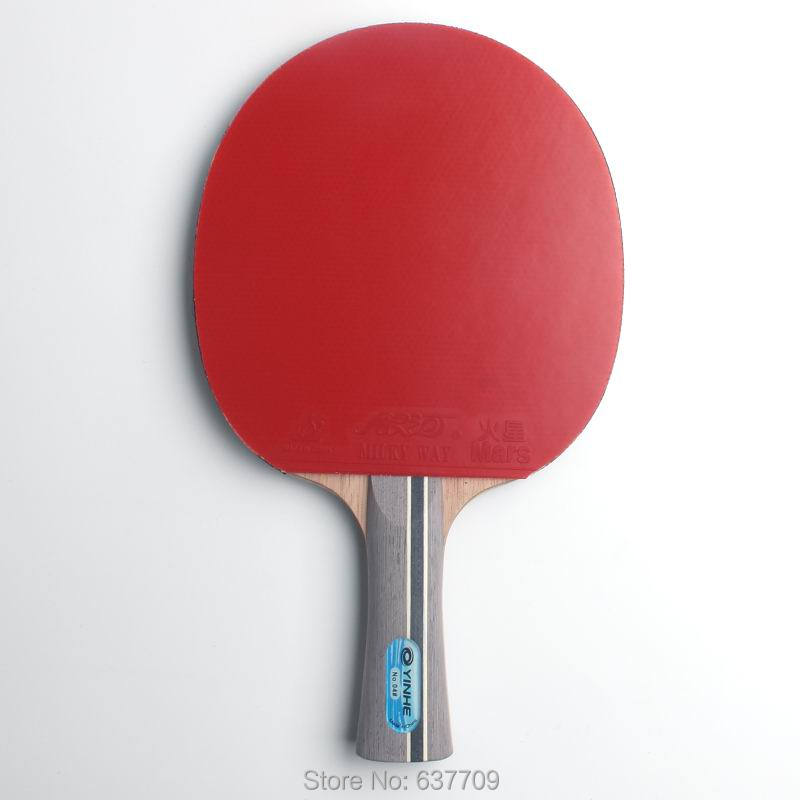 Original Galaxy yinhe 04b table tennis rackets finished rackets racquet sports pimples in rubber ping pong paddles yinhe earth 4 e4 e 4 e 4 shakehand table tennis ping pong blade